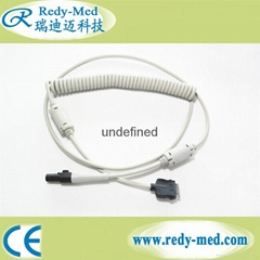 GE® MAC 5000 Compatible Coiled Patient Cable