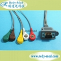 300 Holter DMS 300 ecg cable 5 lead