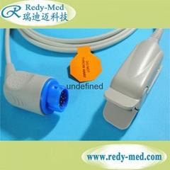 philips 12pin指夹式脉搏血氧饱和度探头