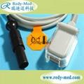 DATEX OHMEDA 7针血氧延长线