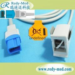 太空10针(oximax)指夹式血氧饱和度探头