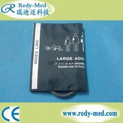 Large Adult Single Tube NIBP Cuff.Nylon Material