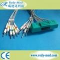 Nihon Kohden 10lead EKG cable,ECG-9320/ECG-9522P