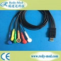 Schiller MT200 4lead/6lead holter cable