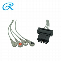 Physio-Control 11110-000102 4 LEAD SNAP ECG LEADWIRES