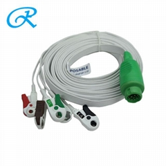 Disposable Philips One-Piece ECG Cable