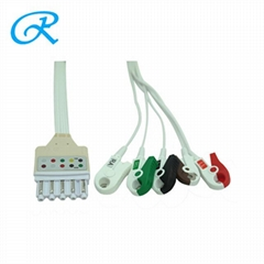 Disposable philips ecg cable leadwires