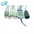 ZOLL 10导心电图机导联线