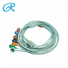 Hot Sale!GE SEER Light 2008594-004 7lead holter patient ecg cable/leadwire (Hot Product - 1*)