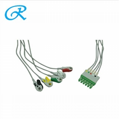 Siemens/Grager Disposable ECG cable with Leadwire