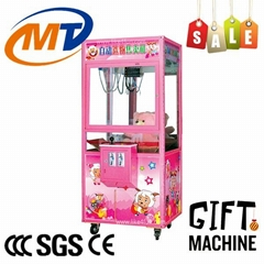 coin operated arcade crane vending machine