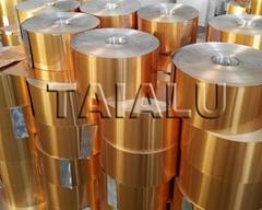 8011 golden aluminium foil coil pilfer proof cap pharmaceutical caps wine cap