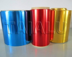 Color Coated Household Aluminum Foil