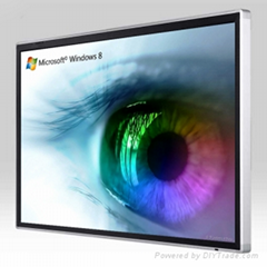 84 inch 4K 10 points Interactive LED/LCD touch screen monitor