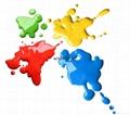 LG系列油性油漆油墨用荧光色粉颜料 4