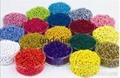 LS紡絲專用高濃度高透明無甲醛熒光色粉顏料 3