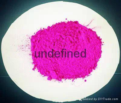 LM高濃度塑料注塑熒光色粉顏料 4