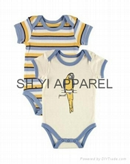 Lovely 2 pcs Newborn baby bodysuit