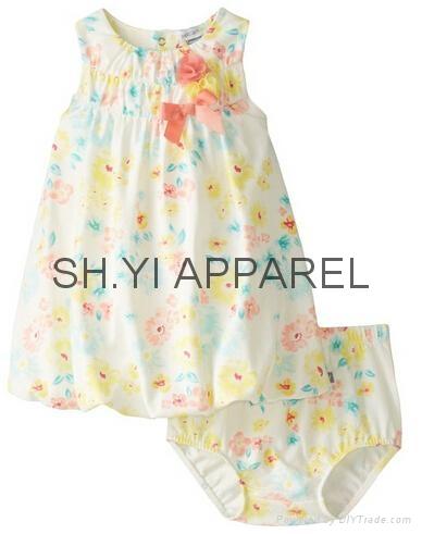 New infant dress set 1