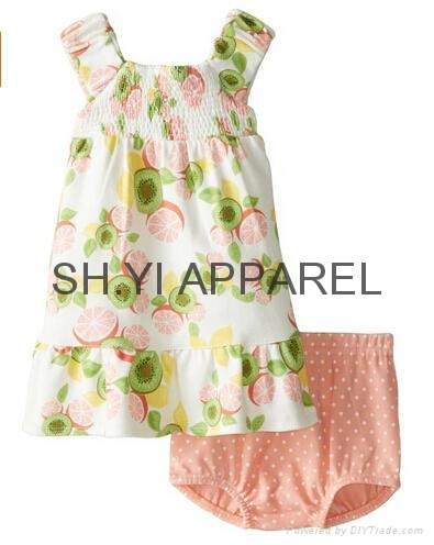 New infant dress set 1