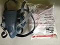 original 3M 7502 mask 3M half face mask 3M Silicone Half Gas Mask  Respirator  3