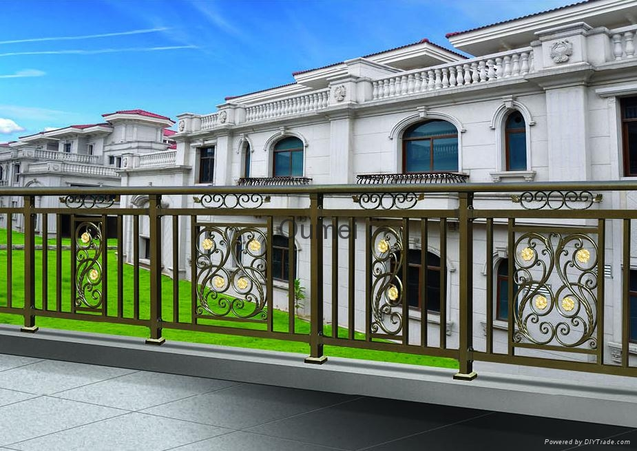 Luxury fence hjm y213 oumei china manufacturer for Luxury fences