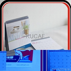 Custom 4C Offset Printing Promotion Desk Calendar