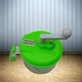 Hand-Operated Vegetable Chopper Food Processor Shredder Meat Grinder Mincer 3