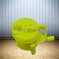 Hand-Operated Vegetable Chopper Food Processor Shredder Meat Grinder Mincer 4