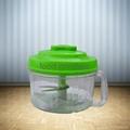 Hand-Operated Vegetable Chopper Food Processor Shredder Meat Grinder Mincer 5