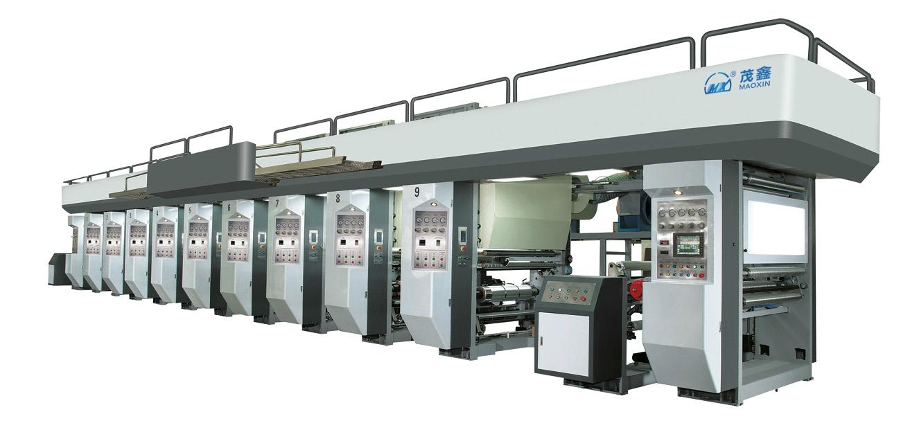 Automatic Electronic Shaft High Speed Gravure Printing Machine 1