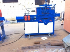 high output - galvanized wire hanger making machine