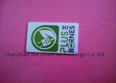 high quality 13.56mhz programmable low cost rfid card