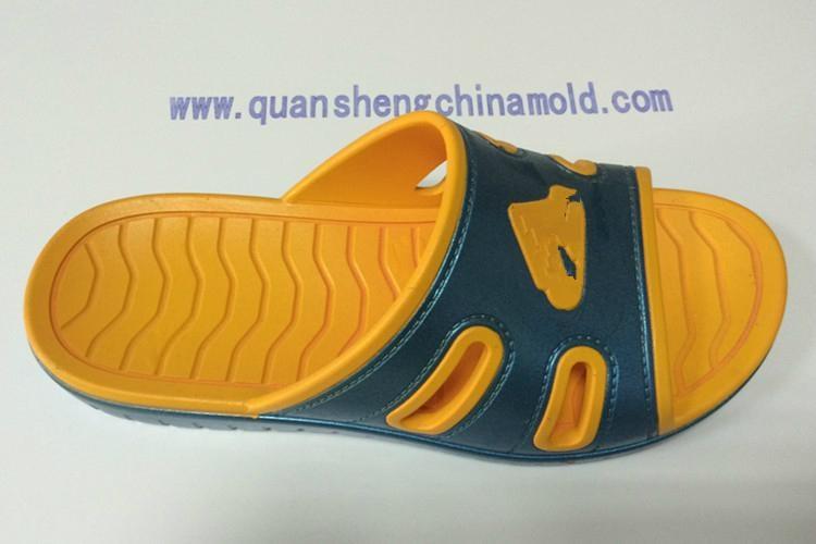 EVA two colors slipper moulds from jinjiang quansheng 3