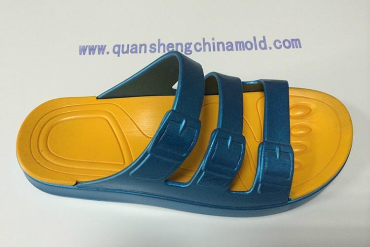 EVA two colors slipper moulds from jinjiang quansheng 2