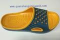 EVA two colors slipper moulds from jinjiang quansheng 5