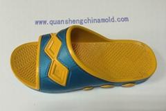 EVA slipper injection moulds from jinjiang quansheng