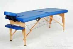 WT002C(new) Hard wood massage table