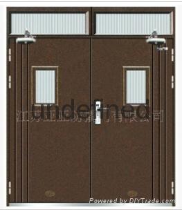 供應廠家生產優質鋼質防火門 2