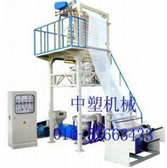 Double with high and low pressure polyethylene blown film machine
