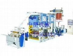 Film gravure printing machine connection