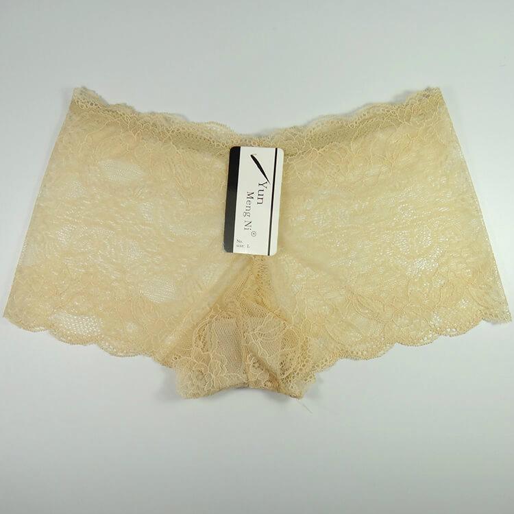 Yun Meng Ni Sexy Underwear Lace Women Boyshorts Mature Panty Lingerie 4