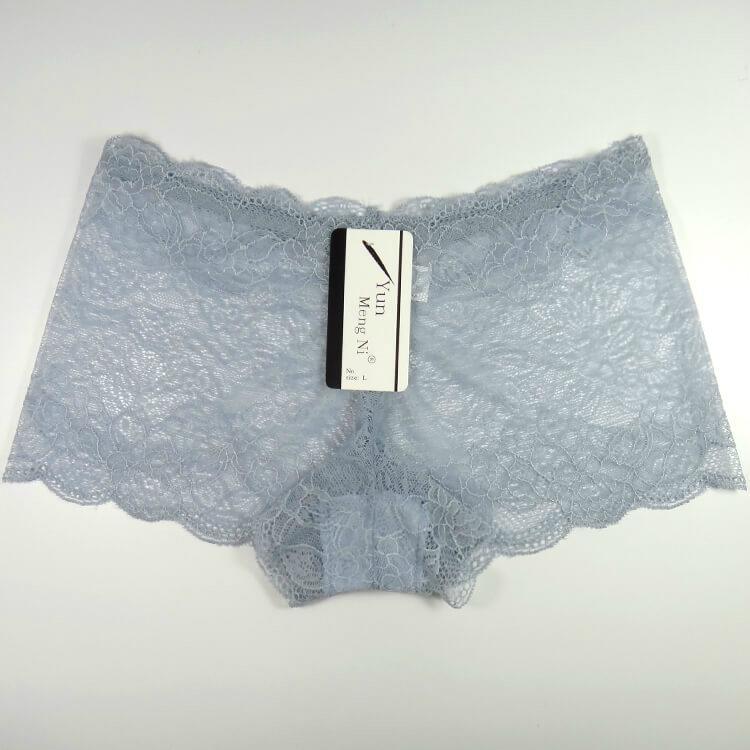 Yun Meng Ni Sexy Underwear Lace Women Boyshorts Mature Panty Lingerie 5