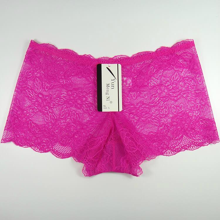Yun Meng Ni Sexy Underwear Lace Women Boyshorts Mature Panty Lingerie 2