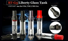 Liberty glass metal tank