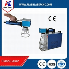 portable/separating metal fiber laser marking machine price