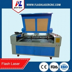 wool felt/leather/textile co2 laser cutting engraving machine for sale