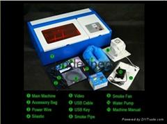 mini laser engraving machine FL-K40