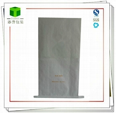 Customized seam bottom paper bag refractory products