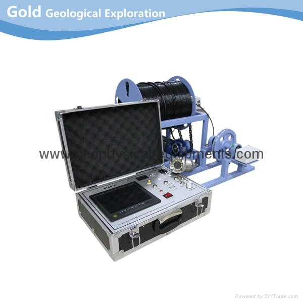 High-resolution Panoramic Borehole Inspection Camera System 1